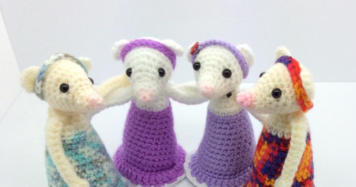 Free Amigurumi Patterns Uk : Size small dog free crochet pattern ger crochet patterns