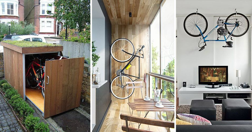 Creatieve manieren om je fiets te stallen