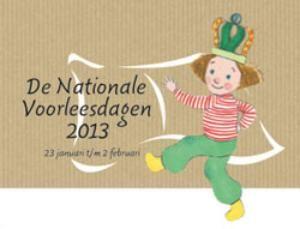 De Nationale Voorleesdagen wordt in 2013 voor de tiende keer gehouden.