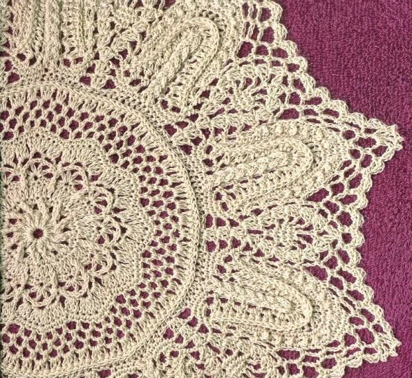 Crochet Doily ~ TrishKDesign | САЛФЕТКИ | Pinterest | Muestras de ...