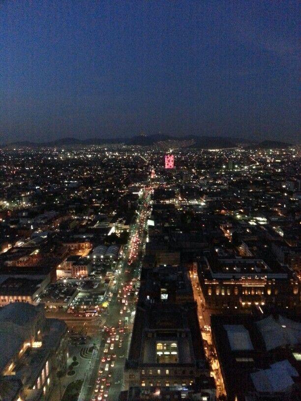 Cd. México... na noite!