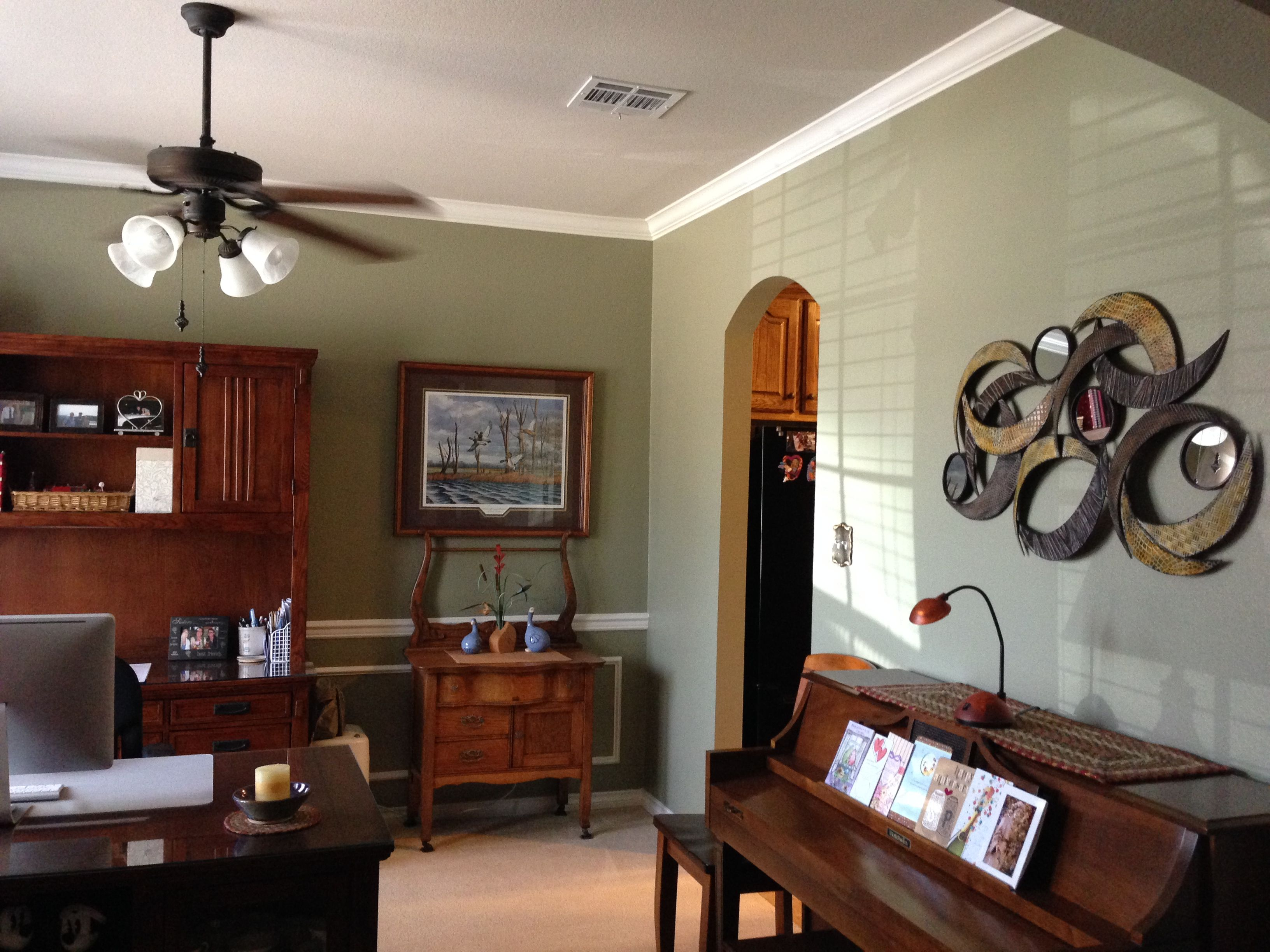 Superb Herbal Wash SW Love This Sherwin Williams Paint Color   This Is My Home  Office.