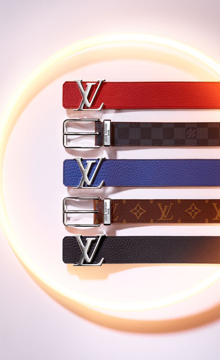 d5be7310a1f Make a subtle statement with a Louis Vuitton belt at the Holiday party.  Coming in a wide variety of colors and leather materials
