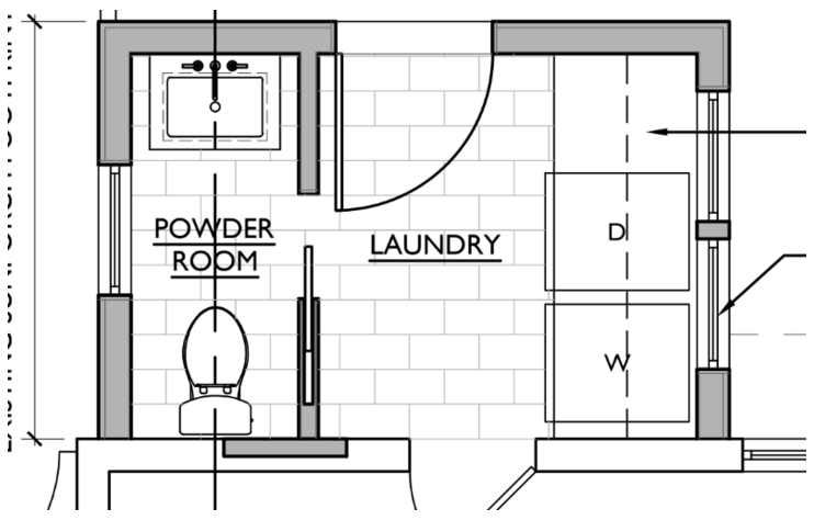 Floor Plan For Half Bath And Laundry Mud Room Half Bath Laundry Room Combo 1197 Views On Img Bathroom Floor Plans Mudroom Floor Plan Laundry Room Bathroom