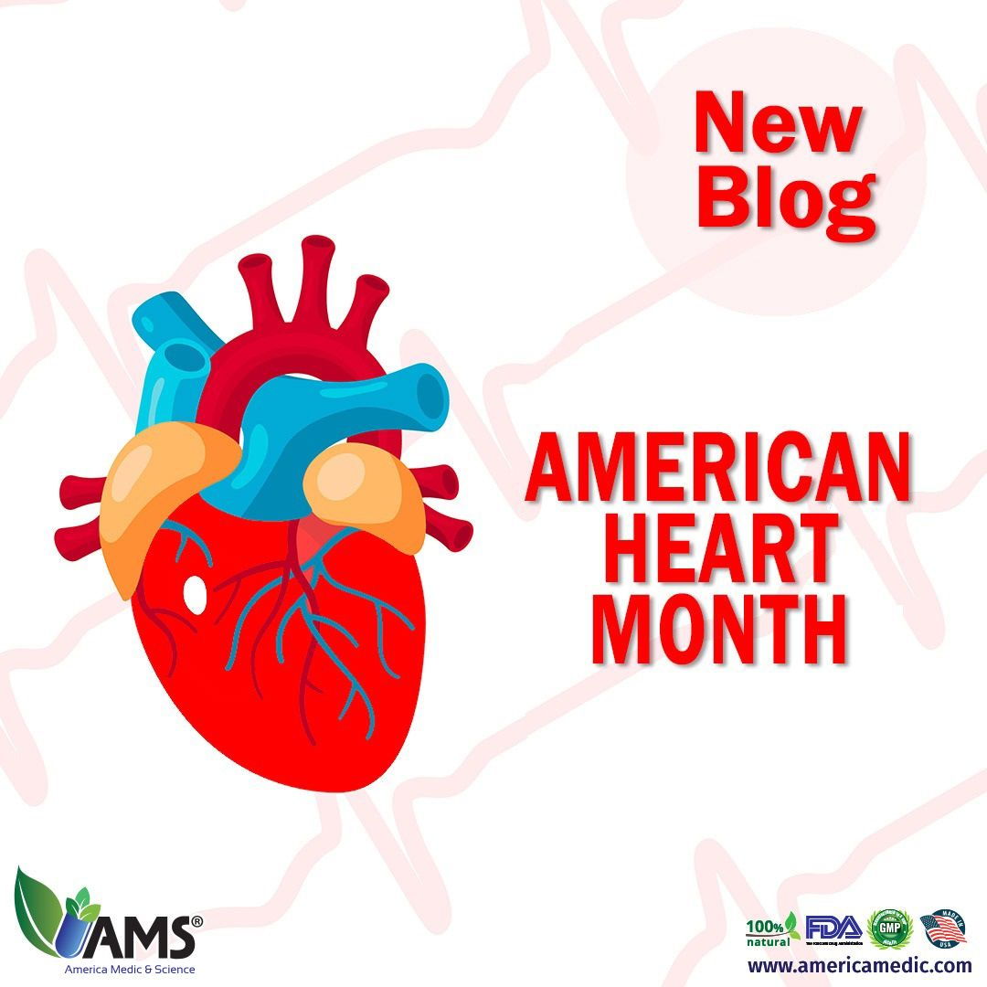 February is marked as American Heart Month. Click on the
