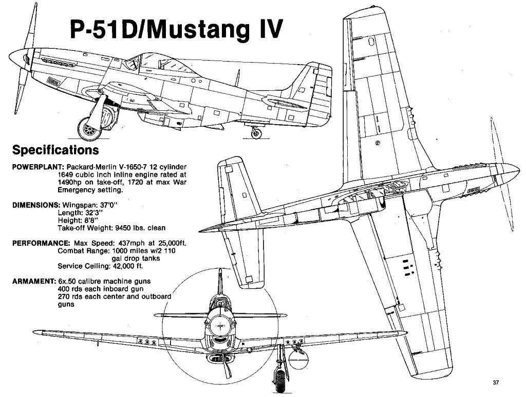 Pin Od Ignacy Sk Adowski Na North American P 51 Mustang F