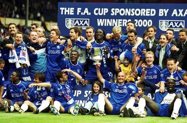 2000 Fa Cup Winners Chelsea Chelsea Football Team Chelsea Football Club Chelsea