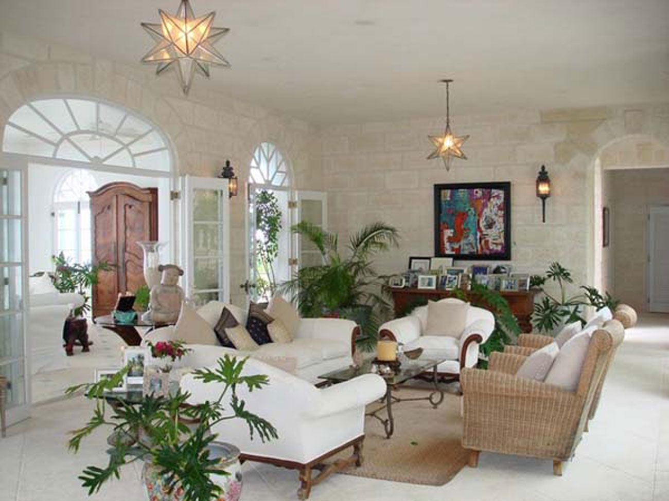 Image result for houses british colonial decor | living room ...