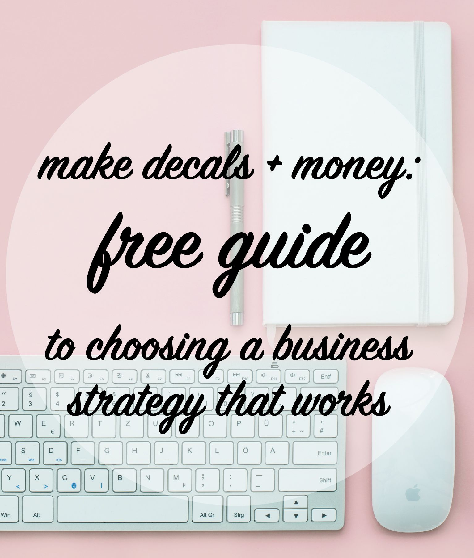 How To Choose A Decal Business Strategy Model Is The Consider Circuit Above Which Has Three Light Cheggcom Foundation For Your Cricut Or Silhouette Success Learn Keys At Craftables Blog
