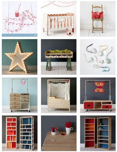 De Tiendas: Mucho color en Zara Home Kids | Muebles para niños ...