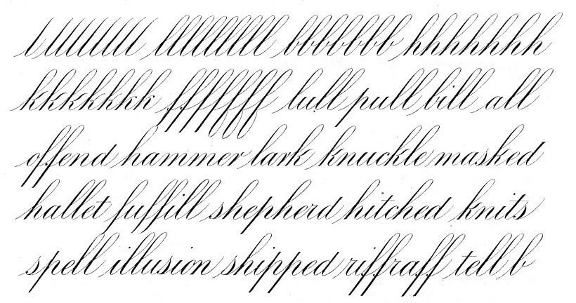 Roundhand Or Engrossers Script