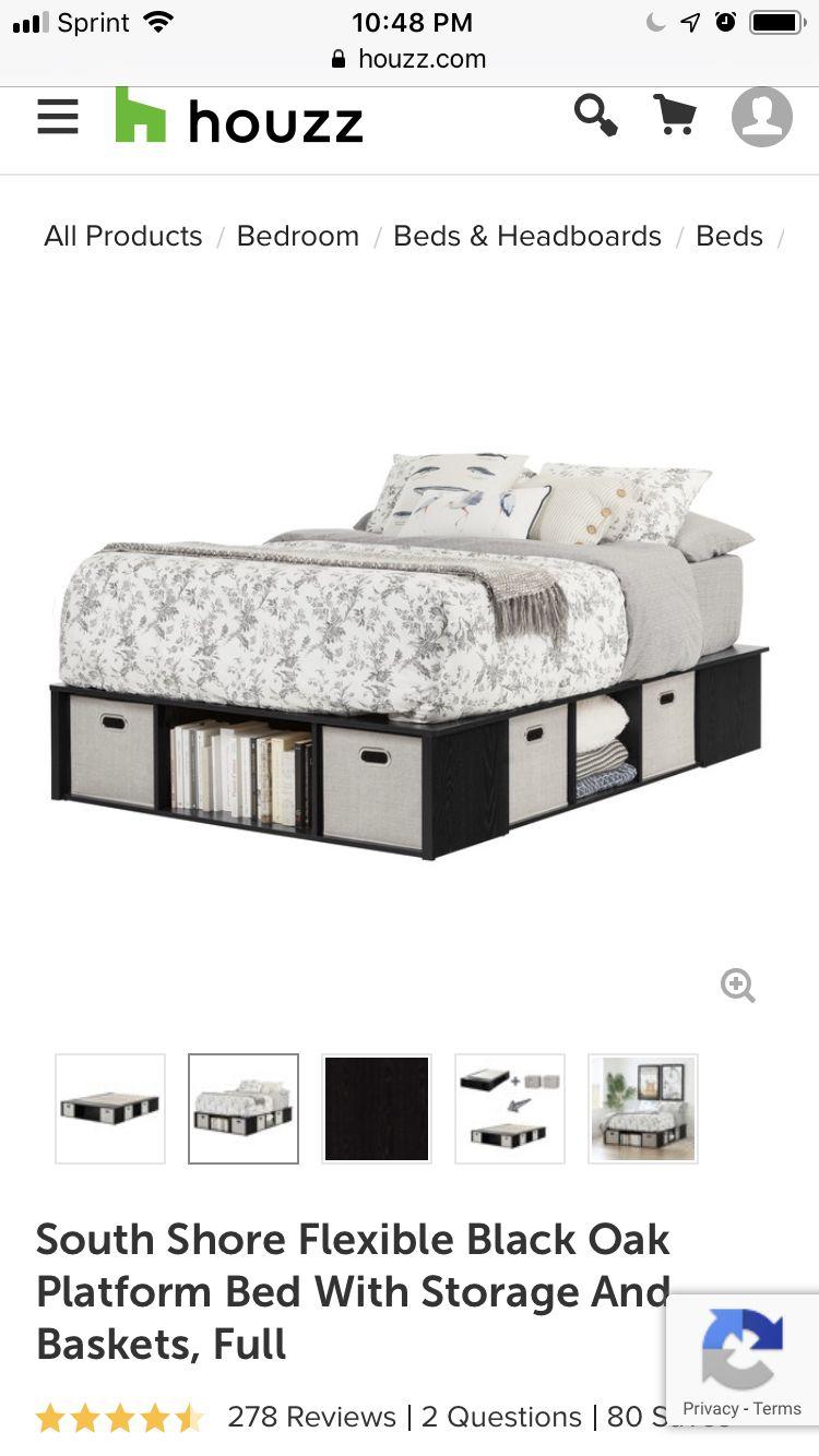 Modloft Chelsea Cal King Bed Platform Beds Houzz Liked On