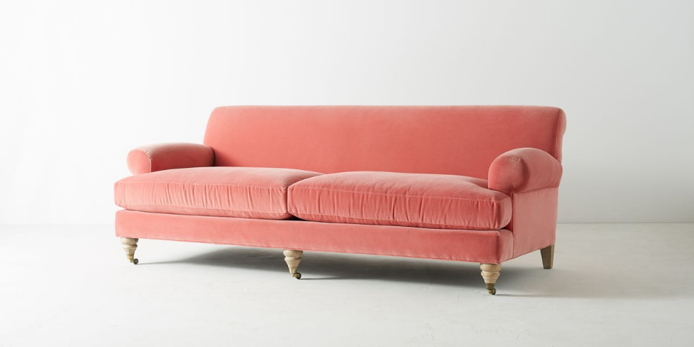 Willoughby Two Cushion Sofa By Anthropologie In Orted