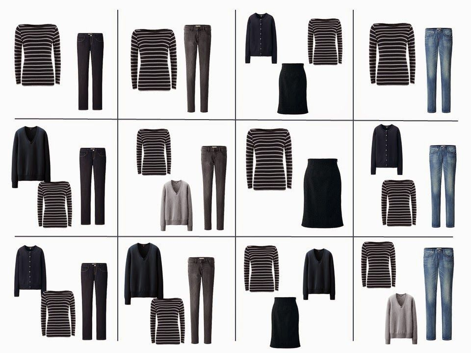The Vivienne Files: The French 5-Piece Wardrobe + A Common Wardrobe: blue, green, and grey