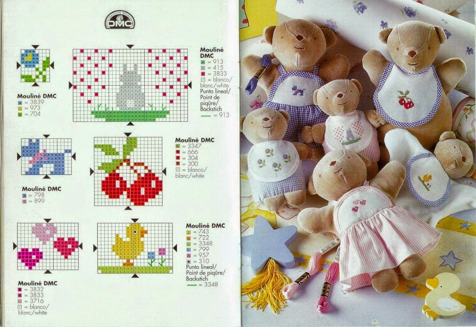 Punto croce schemi gratis e tutorial schemi per bambini for Punto croce schemi bambini