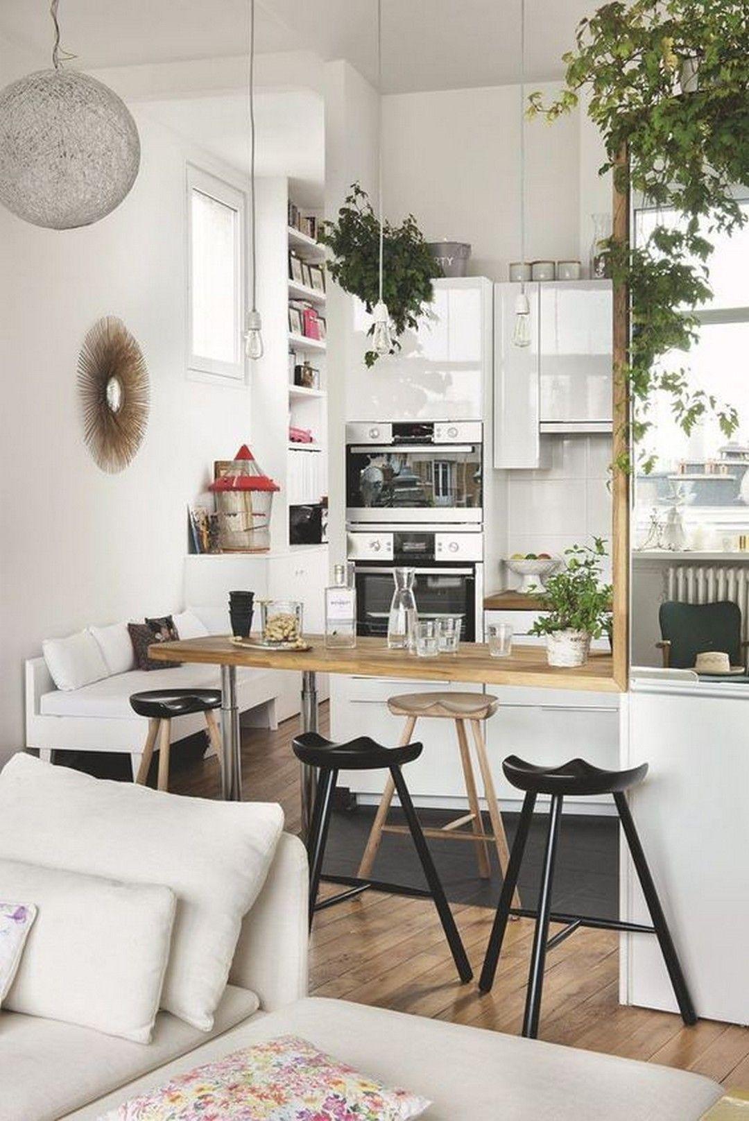 26 Smart Ways To Make Small Kitchen Look More Bigger Interer