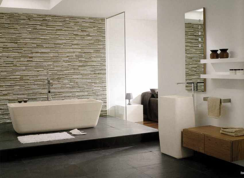 Badezimmer-Fliesen | Interior | Pinterest | Wandfliesen Bad