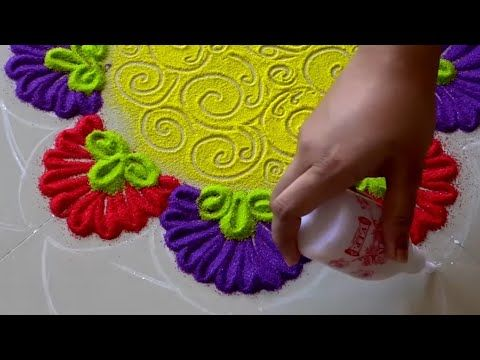 Top Diwali Rangoli Designs | Rangoli by Sneha J |