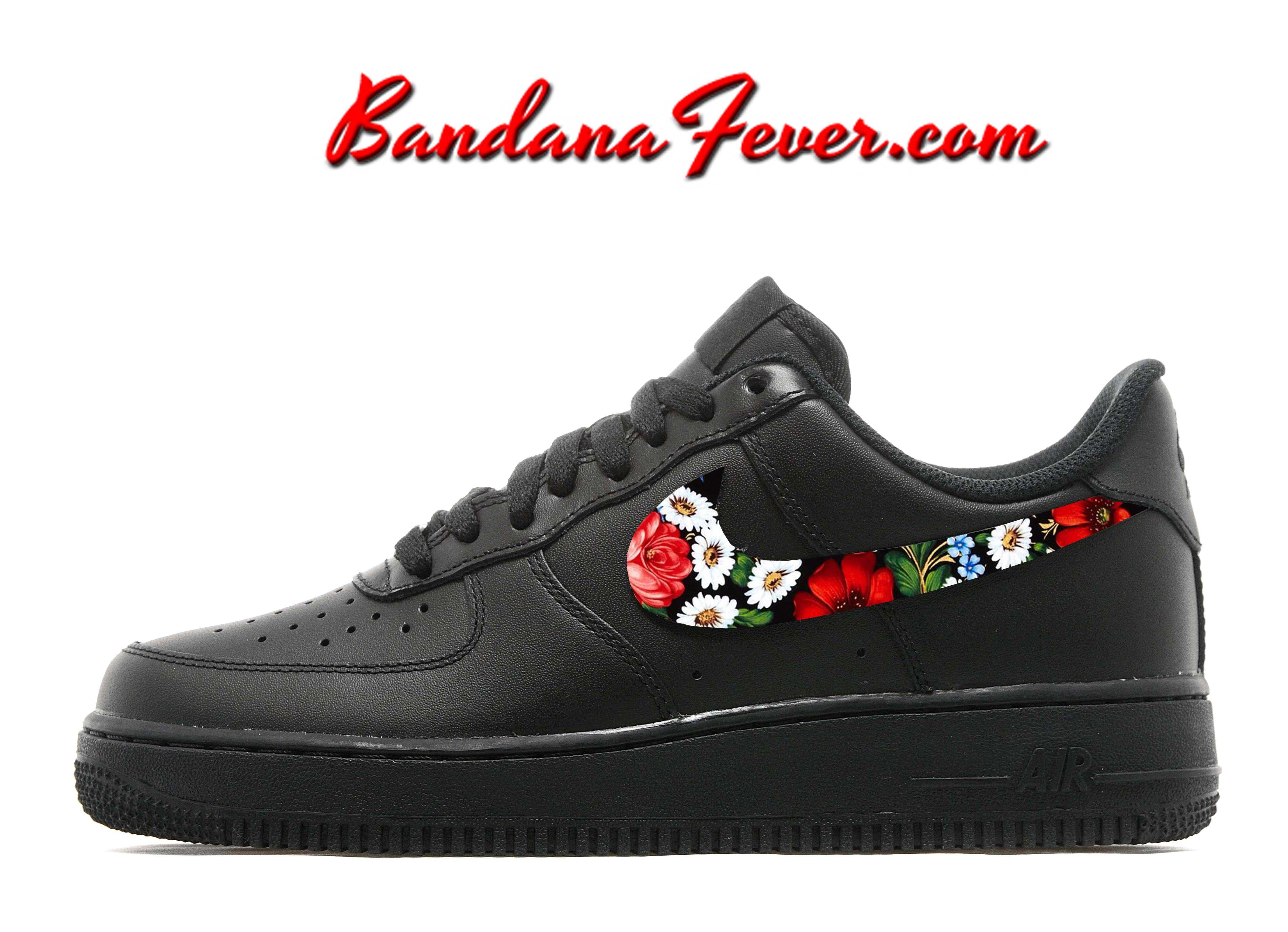 Bandana Fever | Custom Design Your Nike Shoes & Custom Converse Shoes