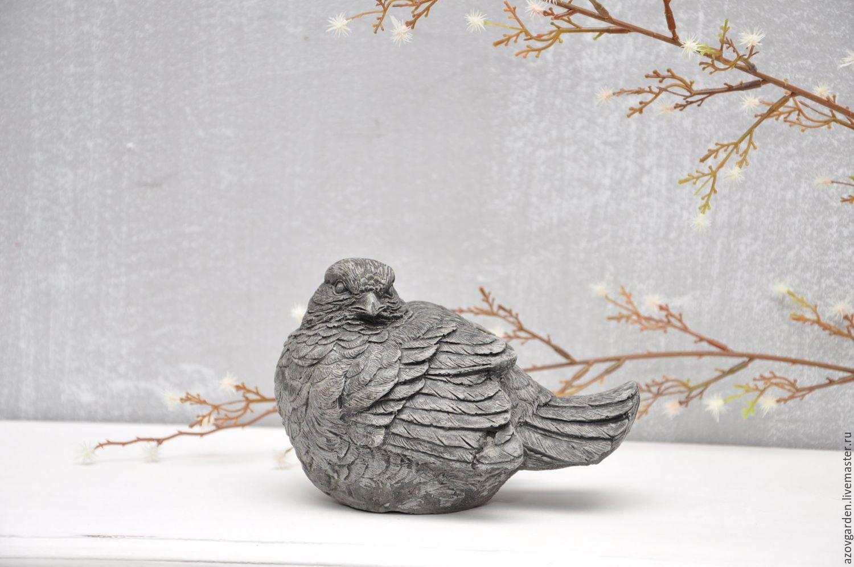 птичка бетон