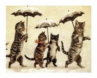 Image result for vintage cat illustration
