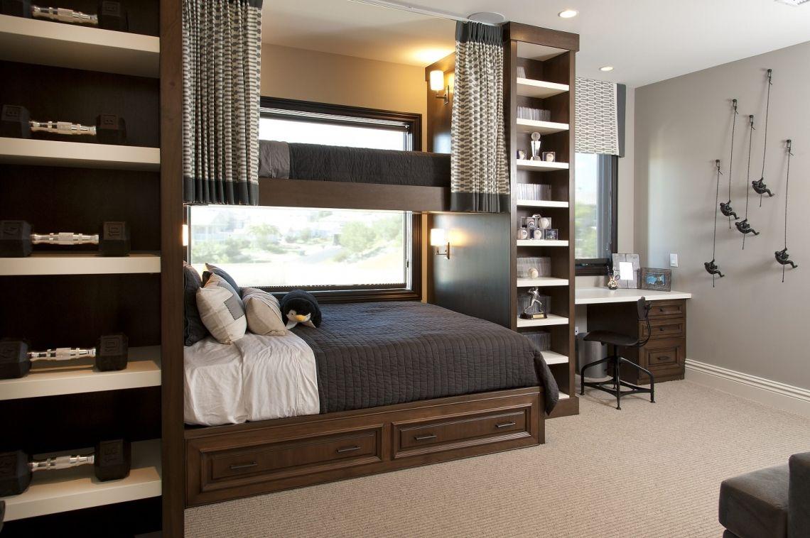 Best Hamptons Inspired Luxury Kids Boys Bedroom Before And 400 x 300