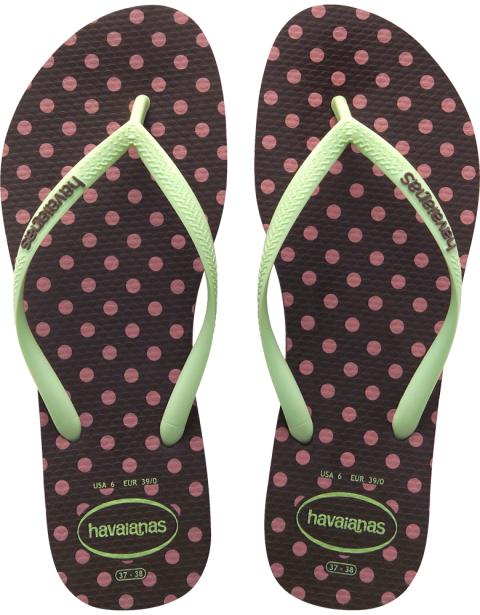bd4cbfe5caf9 Havaianas Slim Fresh Pop Up Dark Brown Flip Flop  flopstore