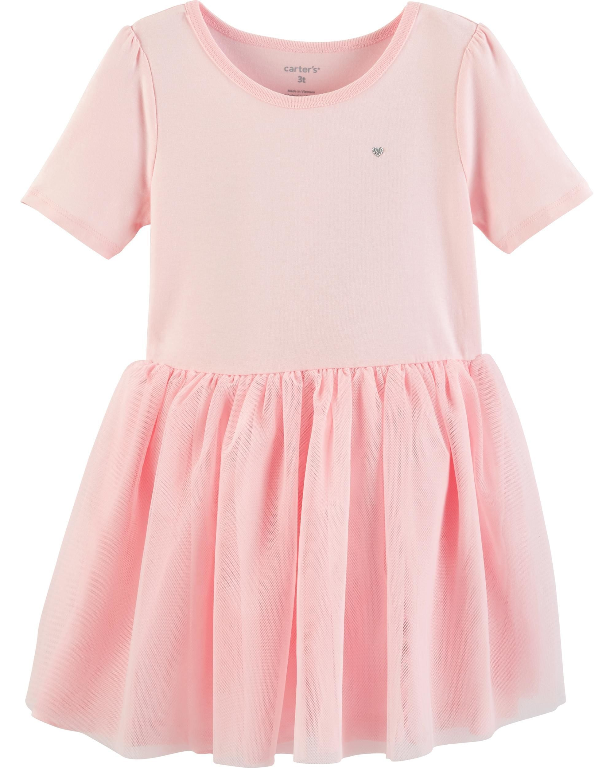 a14514217ae2 Toddler Girl Tutu Jersey Dress | Carters.com #toddlerdresses ...