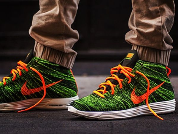 new style 63e95 f2240 nike-lunar-flyknit-chukka-green-orange-mr marcuuusss