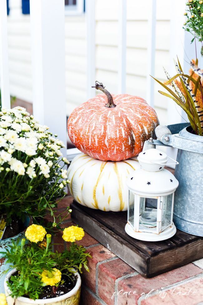FALL FRONT PORCH DECOR - Place Of My Taste