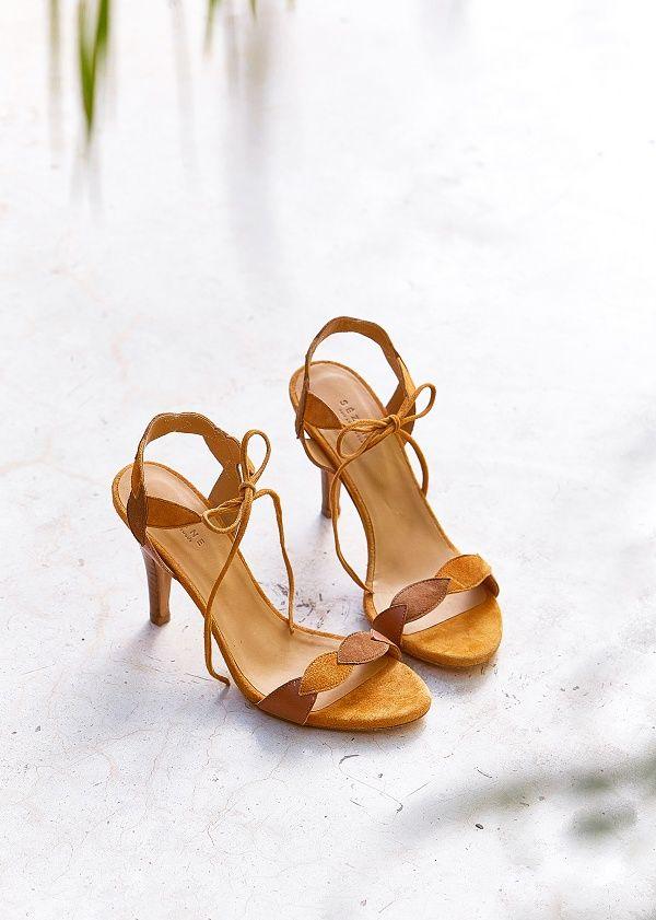 uk cheap sale exquisite style buy best Sézane - Sandales High Scarlett | Chaussures temoins ...