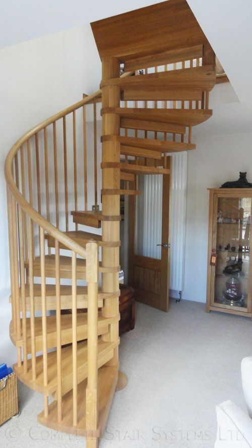 Best Spiral Staircase Highlands A Solid Oak Spiral Stair With 640 x 480