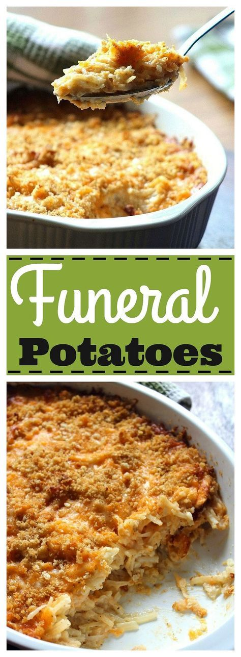 Whether you're hailing from Utah and refer to the recipe as Funeral Potatoes or a Southerner from Mississippi that calls itHashbrown Casserole, this recipe is pretty darn delicious if you a…