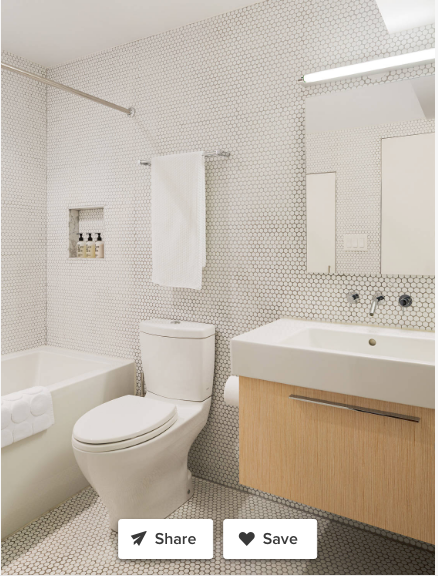 Pin By Leah Phillips Falzone On Kids Bathroom White Subway Tile Bathroom Mid Century Modern Makeover Tile Bathroom