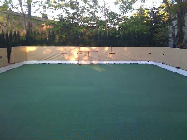 Beautiful Backyard Roller Derby Rink Awesome Ideas