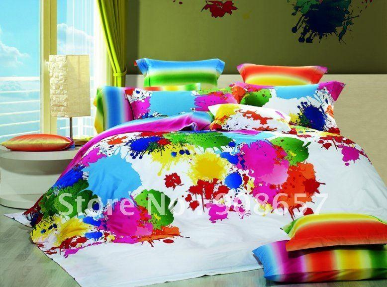 edredones de colores