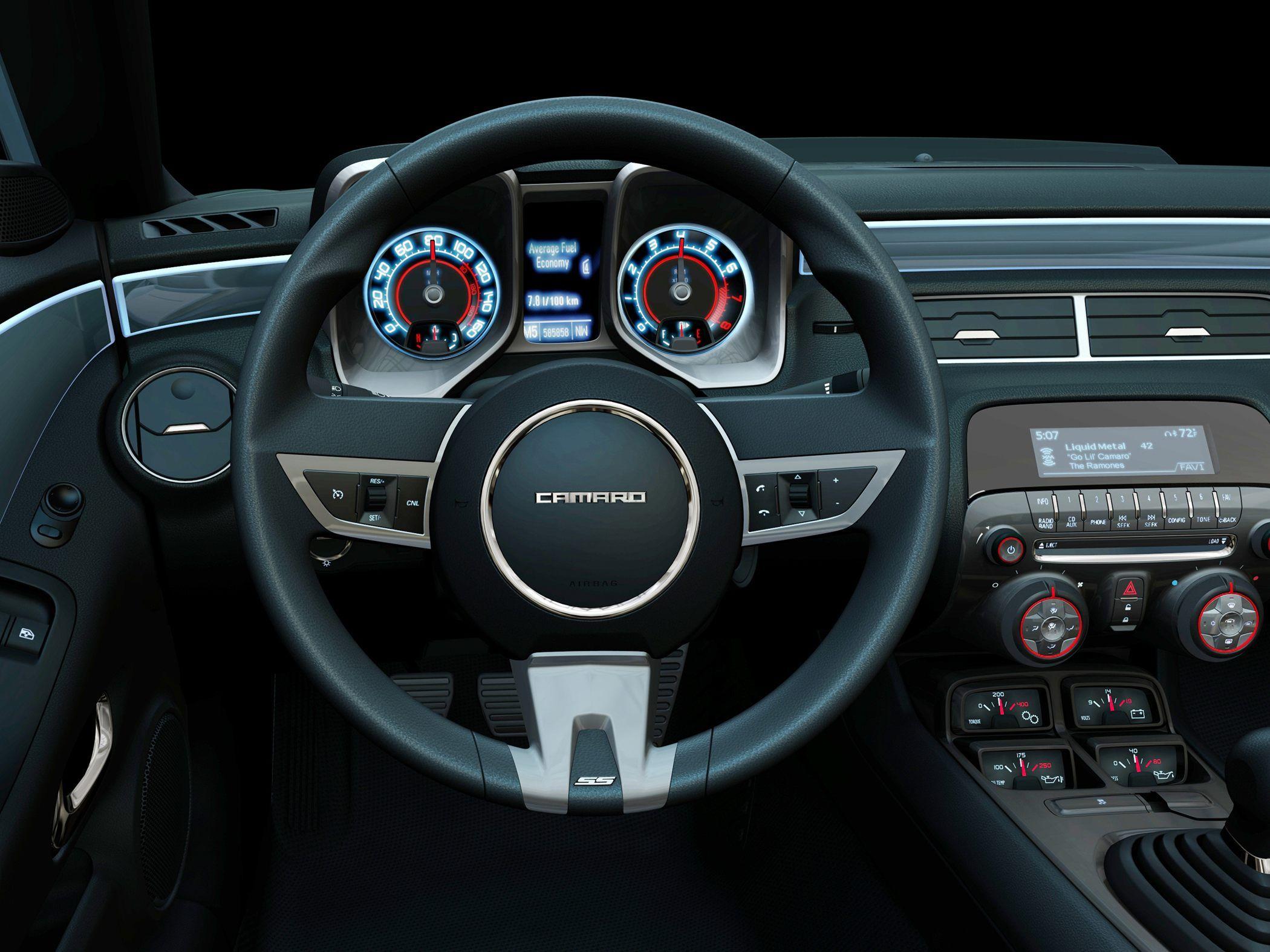 Chevy Camaro Interior JGVhShLm