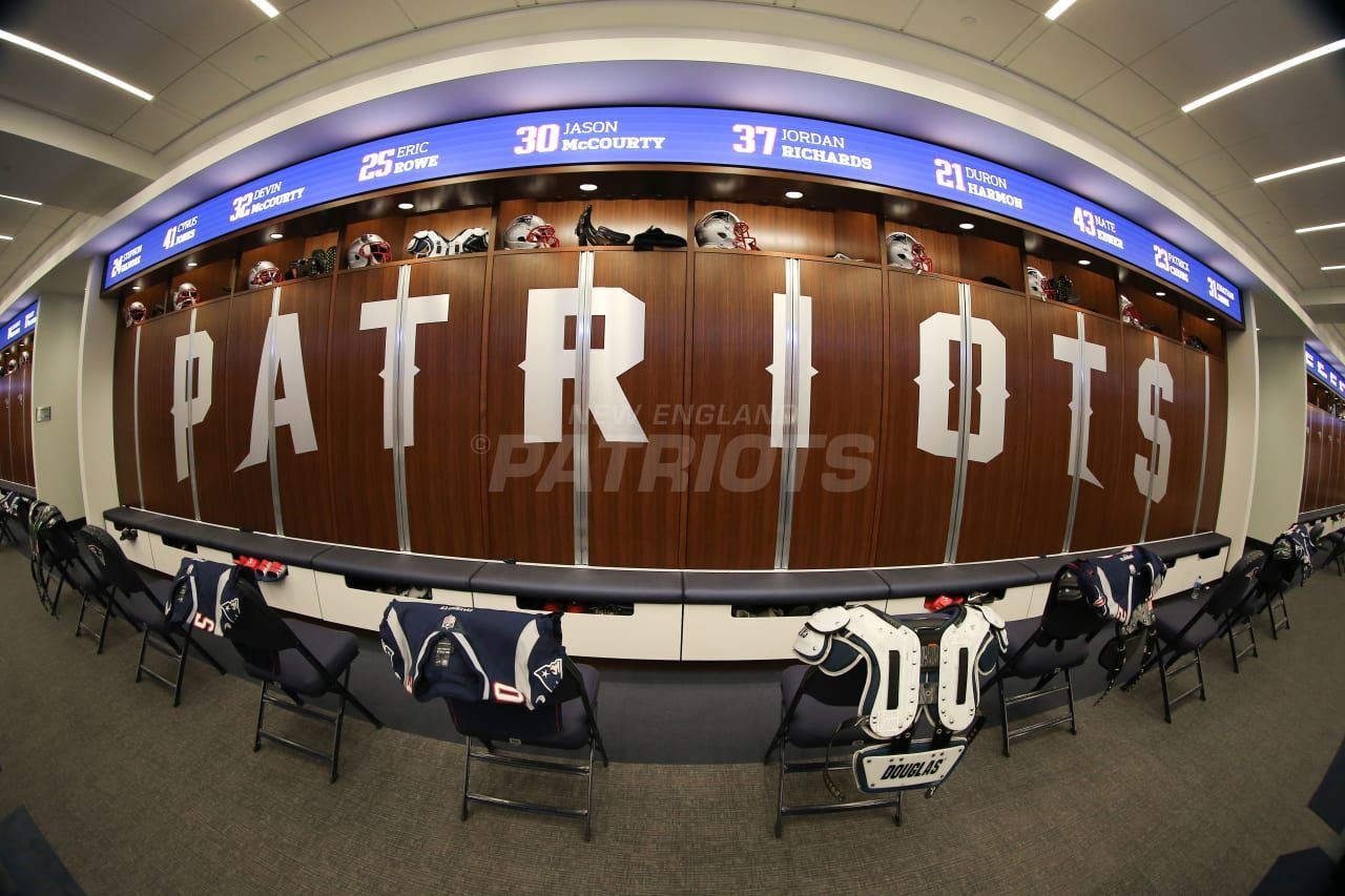 Pin By Chrisbirdine On Dynasypts Patriots Locker Room Go Pats