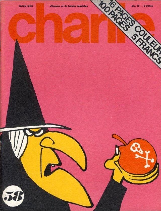 Charlie Mensuel - # 58 - Novembre 1973 - Couverture de Parker et Hart