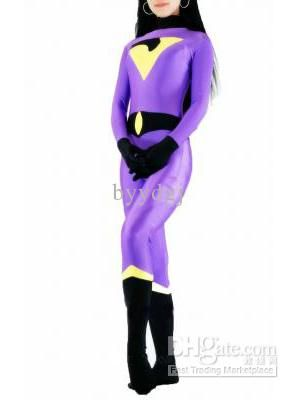 Cheap Cartoon Halloween - Best Spandex Superhero Costume Halloween Cosplay Party Zentai Suit Online with $27.58/Piece | DHgate  sc 1 st  Pinterest & DC Comics The Wonder Twins Jayna Spandex Superhero Costume Halloween ...
