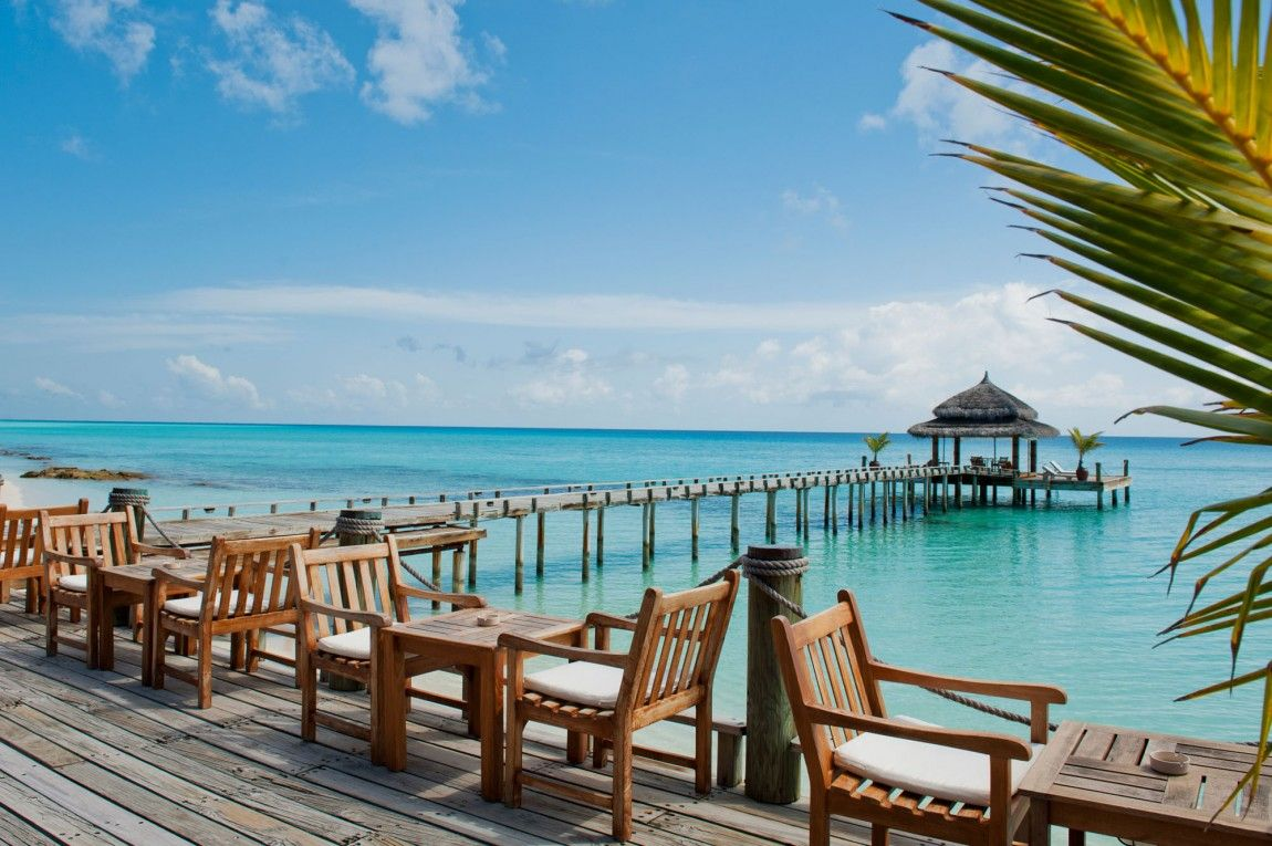 Breathtaking View Of The Ocean And The Pier From The Kuramathi Island Resort In Rasdhoo Atoll Maldives Island Resort Maldives Resort Resort