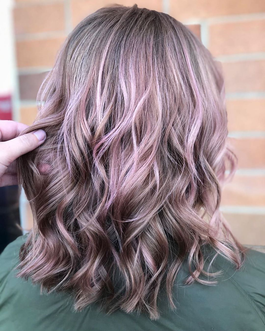 10 Shoulder Length Thick Hair Color Creations Lob Hairstyle 2021 Thick Hair Styles Professional Hair Color Lob Hairstyle