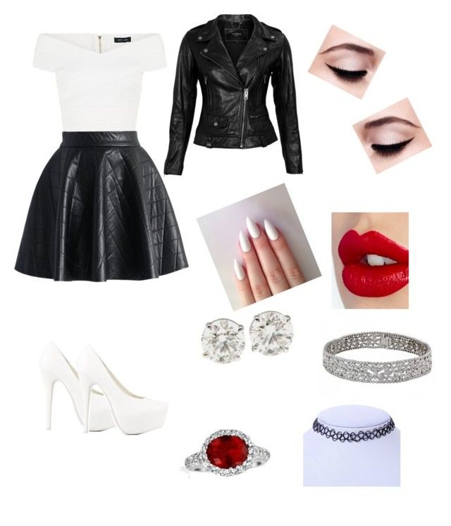 """Cruel Intentions"" by chloe555135 ❤ liked on Polyvore featuring Nly Shoes, VIPARO, Charlotte Tilbury, Bling Jewelry, Chicwish and Maybelline"