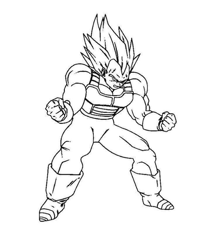 Resultat De Recherche D Images Pour Coloriage Dragon Ball Z