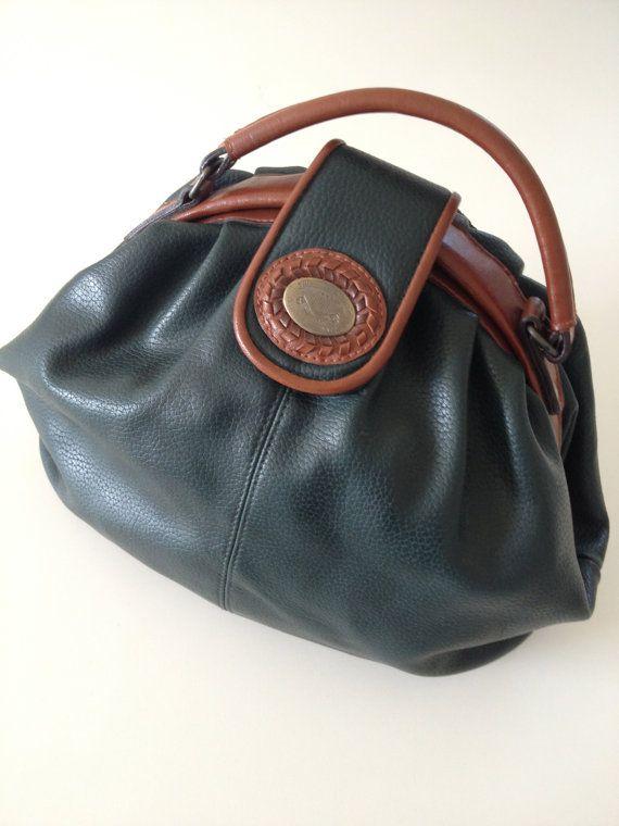 Vintage Michael Stevens International Leather Handbag ae14a72e5f73a