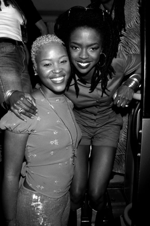 Eve and Lauryn Hill *posted by Hip Hop Fusion