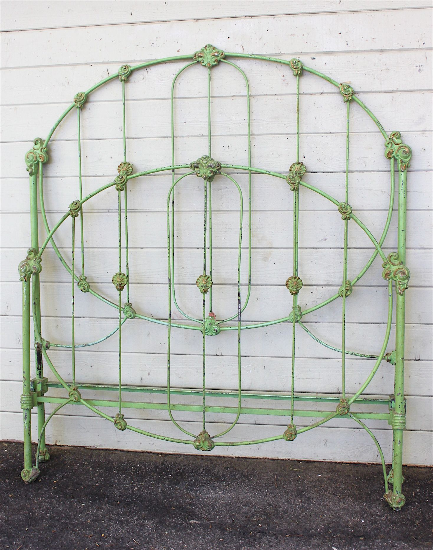 find this pin and more on antique iron beds - Vintage Iron Bed Frames