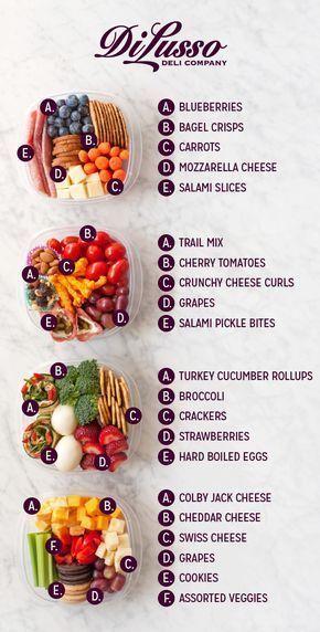 Schnelle Snack-Ideen Di Lusso Deli Food:)