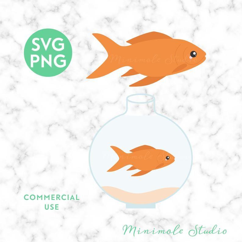 Download Goldfish Svg Fish Svg Goldfish Bowl Clipart Aquarium Svg Etsy Fishing Svg Goldfish Sticker Art