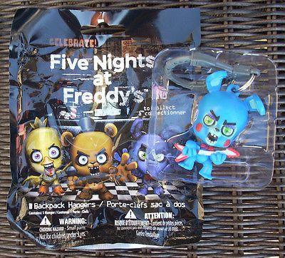 Five Nights At Freddy S Toy Bonnie Backpack Hanger Clip Fnaf Figure
